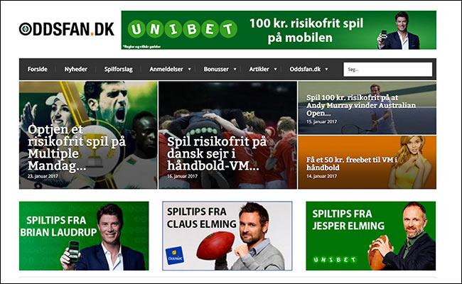 Oddsfan.dk hjælper danske spillere med at finde de bedste odds- og bonustilbud